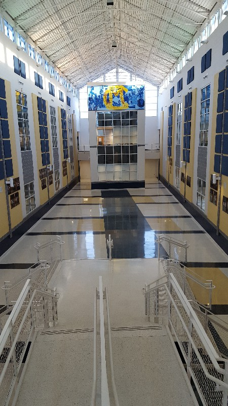 canon mcmillan high school atrium